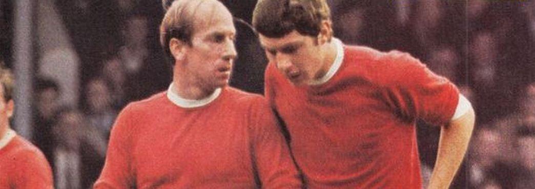 Bobby Charlton And Brian Kidd